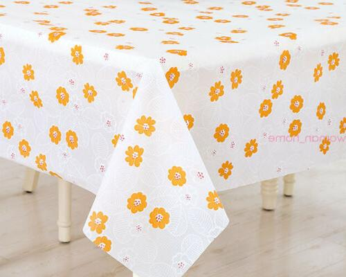 Waterproof Dining Tablecloth Decor