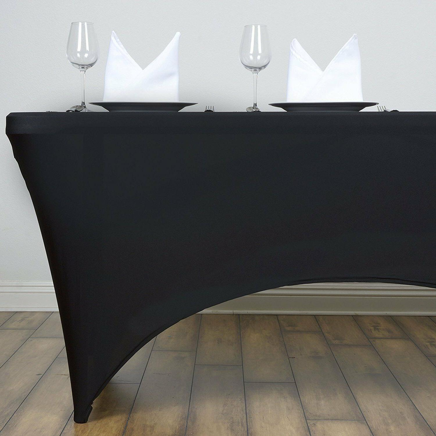 Rectangular Covers Black White Party