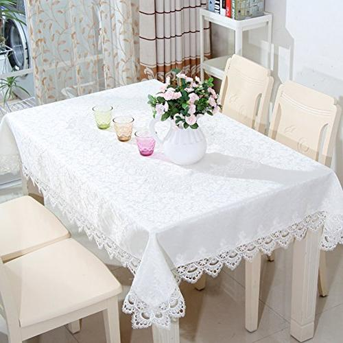 White Lace tablecloths for Party