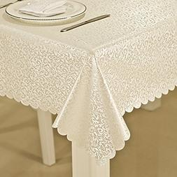 ColorBird Luxury Scroll Damask Spillproof and Oilproof Durab