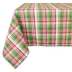 """DII Machine Washable, Dinner and Holiday Tablecloth 52 x 90"""""""