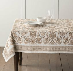 Maison d' Hermine Allure 100% Cotton Tablecloth 69 inch Roun
