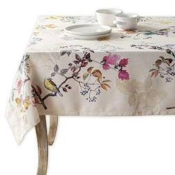 Maison d' Hermine Equinoxe 100% Cotton Beige Tablecloth 54 I
