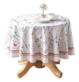 Maison d' Hermine Fairy Christmas 100% Cotton Tablecloth 69