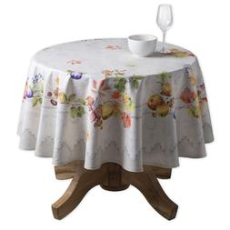 Maison d'Hermine Fruit d'hiver 100% Cotton Tablecloth 63 Inc