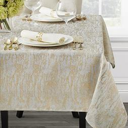 Benson Mills Metals Metallic Tablecloth