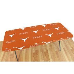 NCAA Table Cover - Size: 96 W x 30 D, NCAA Team: Texas Longh