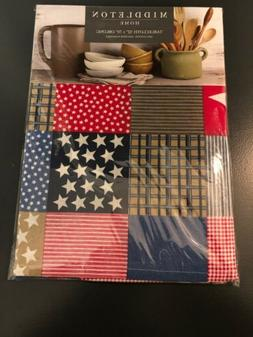 New! American Colonial Americana Kitchen Tablecloth Dining T