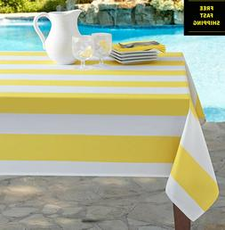 New Dining Beach Stripe Summer Picnic Patio Indoor & Outdoor