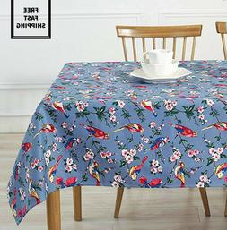 New Easter Spring Holiday Cotton Vintage Bird Floral Print T