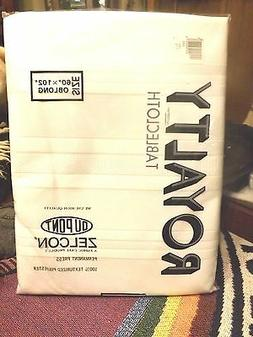 New Factory Sealed Royalty Pure White Polyester w  Zelcon Ta