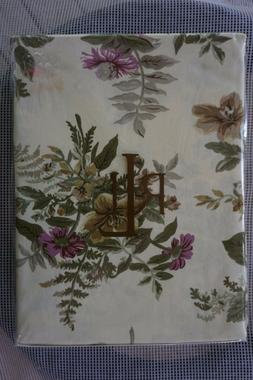 RALPH LAUREN NEW IN PACK BRITTANY FLORAL CREAM TABLECLOTH 60