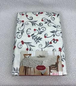 NEW St. Nicholas Square® Scroll Print Polyester Tablecloth