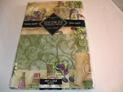 New! Vinyl Country Farm Animals Tablecloth Kitchen Dining Cl