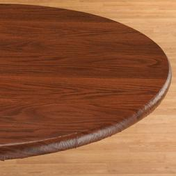 *NEW* Wood Grain Fitted Tablecover 344622 FREESHIPPING