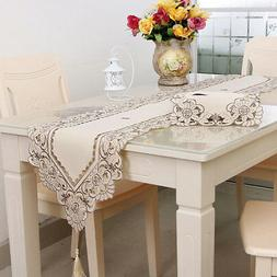 Nordic Lace Table Runner Tablecloth Home Wedding Party Banqu