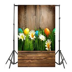 Nufelans 3x5ft Easter Theme Photography Backdrops Photo Back