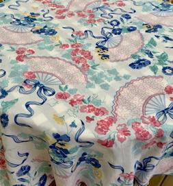 """Olivier Desforges France NWT Tablecloth 64""""x76"""" Print Co"""
