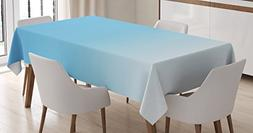 Ambesonne Ombre Tablecloth, Skyscapee in The Spring View Tro