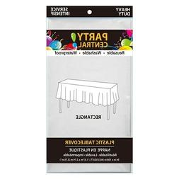 PACK OF 24 Plastic table Cover RECTANGLE 108 inch diameter T