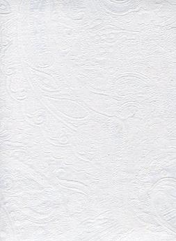 Ralph Lauren Lauren Paisley Suite White Tablecloth, 60-by-10