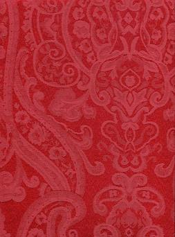 Ralph Lauren  Paisley Tablecloth  Red   Assorted Sizes  Easy