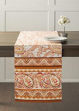 Maison d' Hermine Palatial Paisley 100% Cotton Table Runner