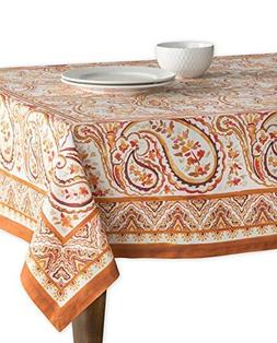 Maison d' Hermine Palatial Paisley 100% Cotton Tablecloth 54