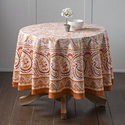 Maison d' Hermine Palatial Paisley 100% Cotton Tablecloth 69
