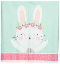 party supplies bunny party plastic tablecloth tablecover