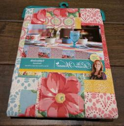 Pioneer Woman Patchwork Tablecloth 52 x 70 Multi-Color Flora