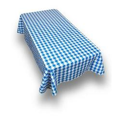 Picnic Check Print Indoor/Outdoor Vinyl Flannel Backed Table