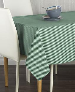 Pinstripes Hunter Signature Tablecloth - Assorted Sizes!