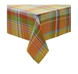 Plaid Rectangle Tablecloth  60 x 84 Contemporary Fabric Tabl