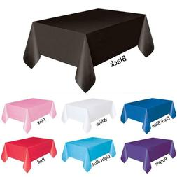 Plastic Banquet Party Table Cover Roll - 54 * 108 Feet - Dis