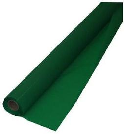 Creative Converting Roll Plastic Table Cover, 100-Feet, Emer