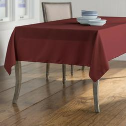 polyester poplin rectangular tablecloth 60 by 102