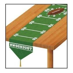 "Printed Game Day Football Table Runner - 11"" x 6'"