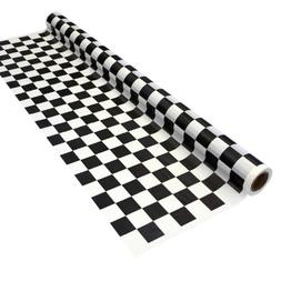 Party Essentials Printed Plastic Banquet Table Roll Availabl