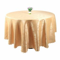 PVC Plastic Cover Water Oil Stain Resistant Tablecloth Orang