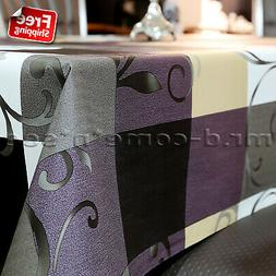 PVC Rectangle Tablecloth Oil-proof Stain-Resistant Wipe Clea