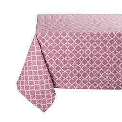 DII Rectangle Lattice Cotton Tablecloth for Weddings, Picnic