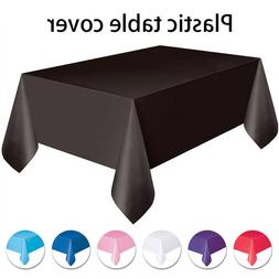 Rectangle Tablecloth Table Cover Satin for Banquet Wedding P