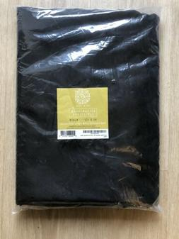 rectangular tablecloth 90 x 132 black item