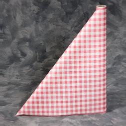 300 foot Red Gingham Paper Table Cover