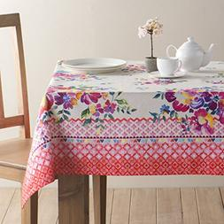 Maison d' Hermine Rose Garden 100% Cotton Tablecloth 60 Inch