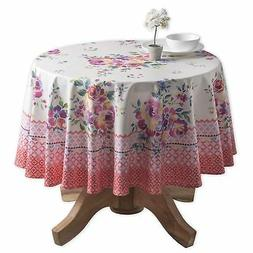 Maison d' Hermine Rose Garden 100% Cotton Tablecloth 63 Inch
