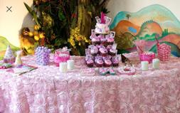 Rosette Tablecloth All Colors & Sizes