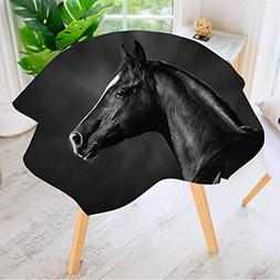 round tables washable polyester portrait