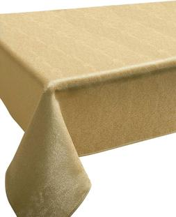 sandstone fabric tablecloth heavy weight wrinkle resistant